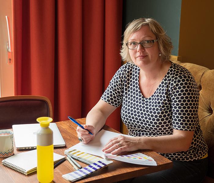 vormgever Marijke Koetsier-Koopmans van Studio Smik