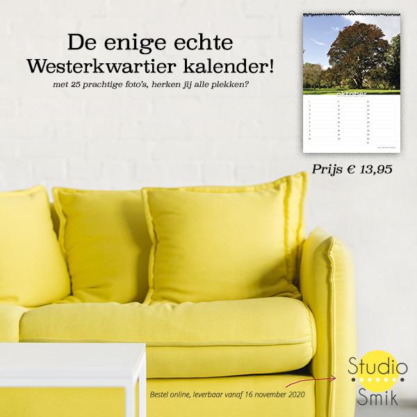 Bestel hier je Westerkwartier kalender