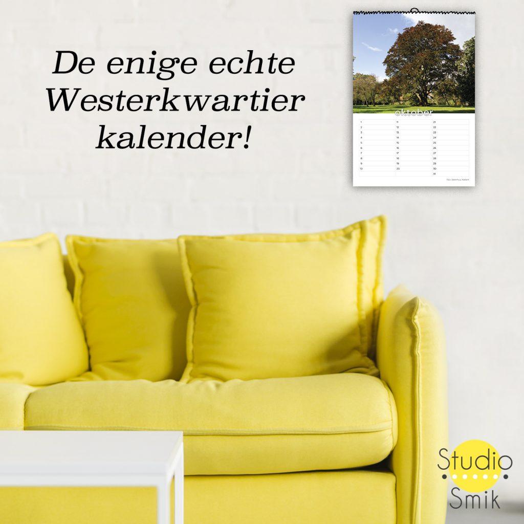 De enige echte Westerkwartier kalender koop je online. Een uniek product van Studio Smik