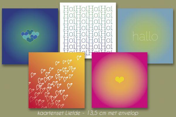 kaartenset Liefde van Studio Smik